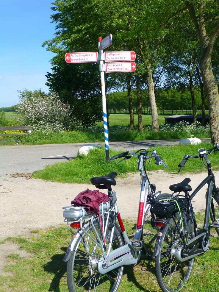 Dag 4 waarde - de waarde van het samen naar kunnen gaan fietsen, en ook nog op een gewone doordeweekse dag