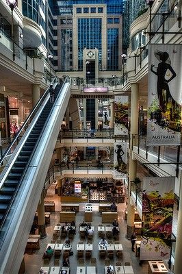 Australia on Collins shopping hub, Melbourne CBD.
