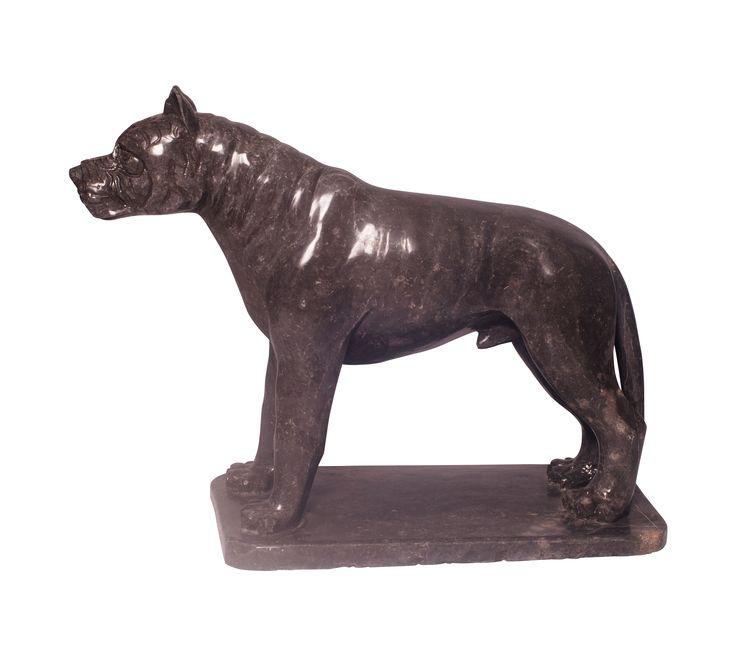 #Zwart #marmeren levensgrote #Pitbull van #IndoMarmer is te koop via #Kunstmarktplaats.nl. http://kunstmarktplaats.nl/ads/black-pitbull-marmer/ #hond #kunst #art #Beeld