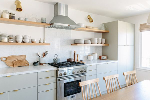 Awesome & Unexpected - An Affordable Scandi Beach House Reno You Have To See To Believe - Photos