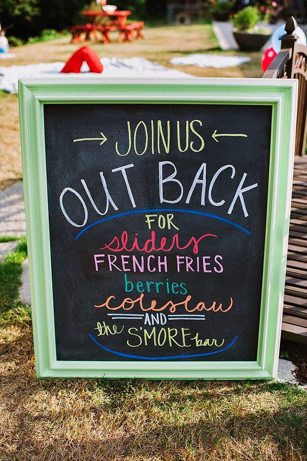 FUN & Colorful Backyard First Birthday!