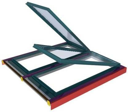 Living Daylight | Aluminium, Laylights, Roof Vents & Roof Windows for Glass or Polycarbonate Glazing