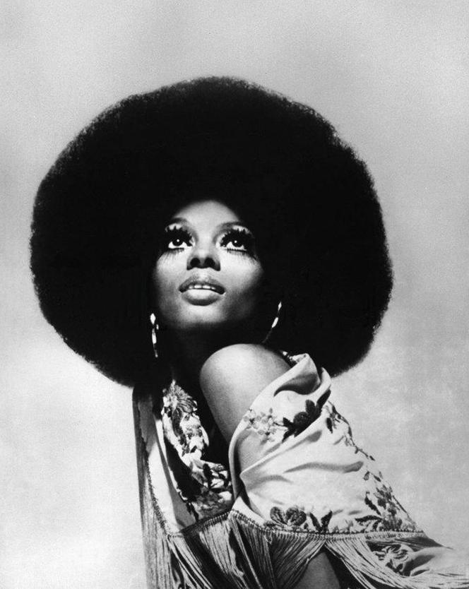 Diana Ross, 1968.  I so wanted to be her backup singer.  Loved her.