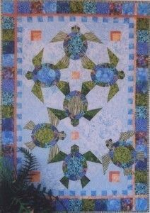 Shell we dance - Sea Turtle Quilt Pattern