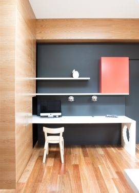 Hawthorn Residence study nook by Doherty Lynch