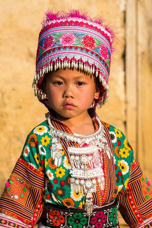 Lovely child of the RED HEAD MIAO tribe | Flickr - Photo Sharing!