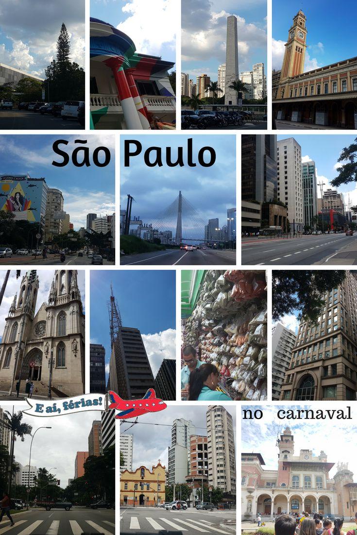 São Paulo no carnaval, com crianças.
