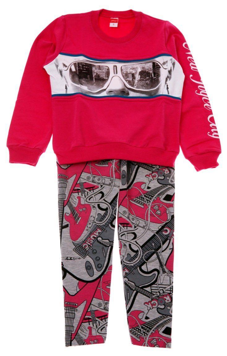 Joyce παιδικό σετ μπλούζα-παντελόνι κολάν «New City»  €18,00