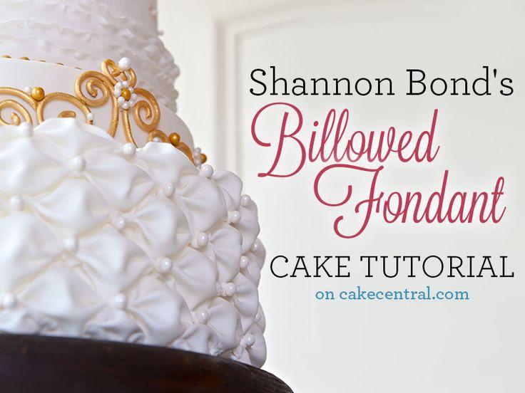 billowed-fondant-cake-tutorial
