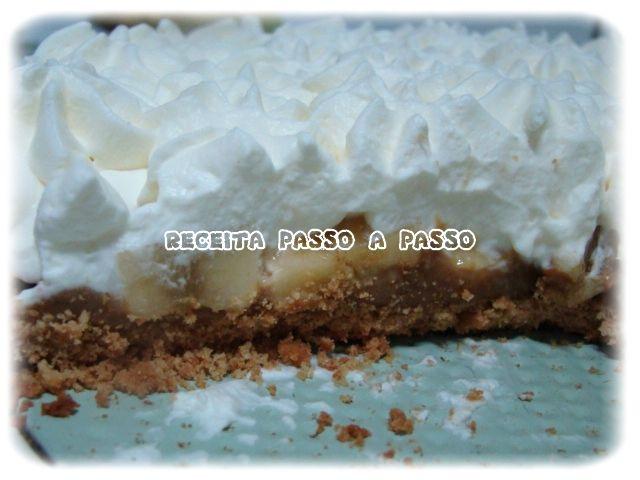 Receita passo a passo: Banoffee Pie (Torta de Banana)