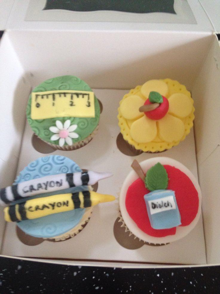 Thank you Teacher cakes