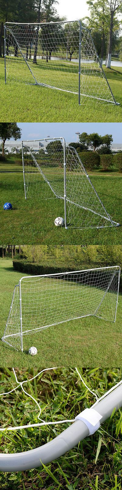 Goals and Nets 159180: 12 X 6 Soccer Goal Football W/Net Straps, Anchor Ball Training Sets BUY IT NOW ONLY: $55.89