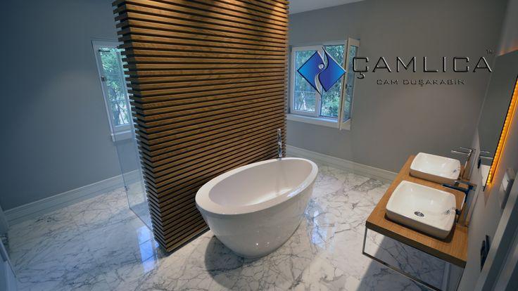 Mimari Banyolarda Duş Kabinleri