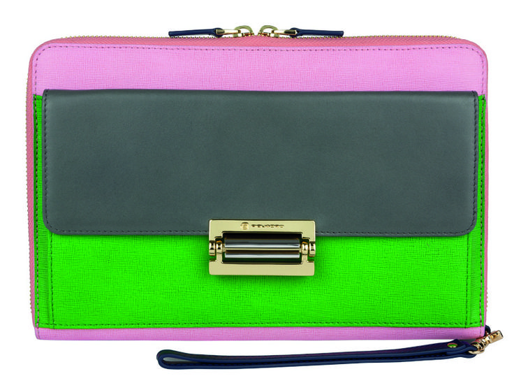 Piquadro Ofelia Clutch with iPad sleeve