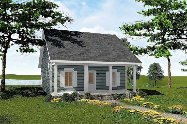 Plan #44-191 - Houseplans.com