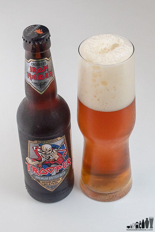 Trooper La Strong Bitter De Robinson S Brewery Inglaterra Con