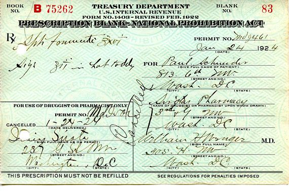 RARE Whiskey Prescription for Hot Toddy #HotToddy #Gift #History