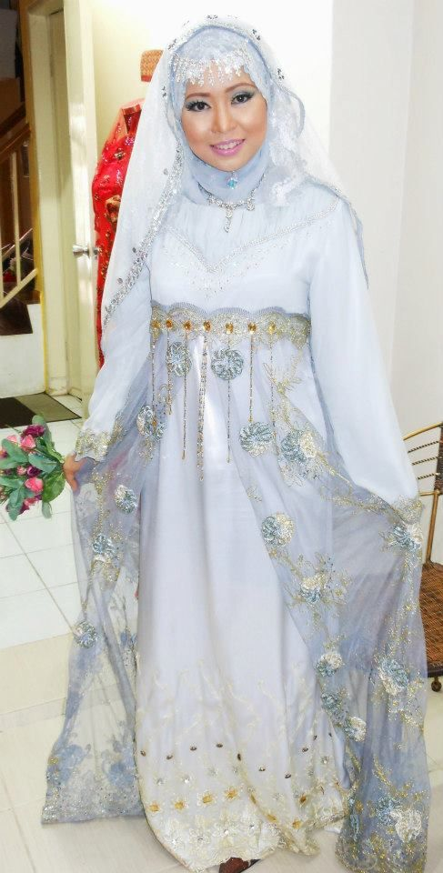Muslim wedding dress international brides and weddings for Dresses for muslim wedding