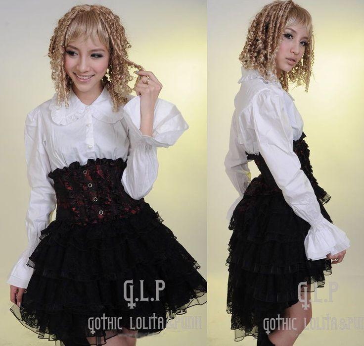 Details zu Mantel jacke gothic lolita burlesk barock victorian asymmetrisch Samt PunkRave