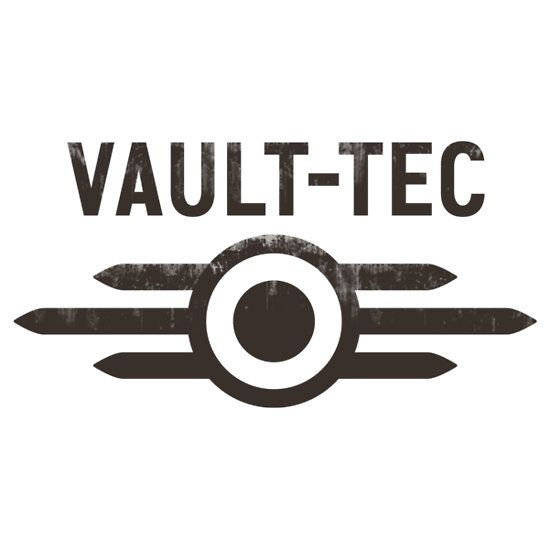 "Fallout Vault Tec"" Stickers by SolarShadow1 