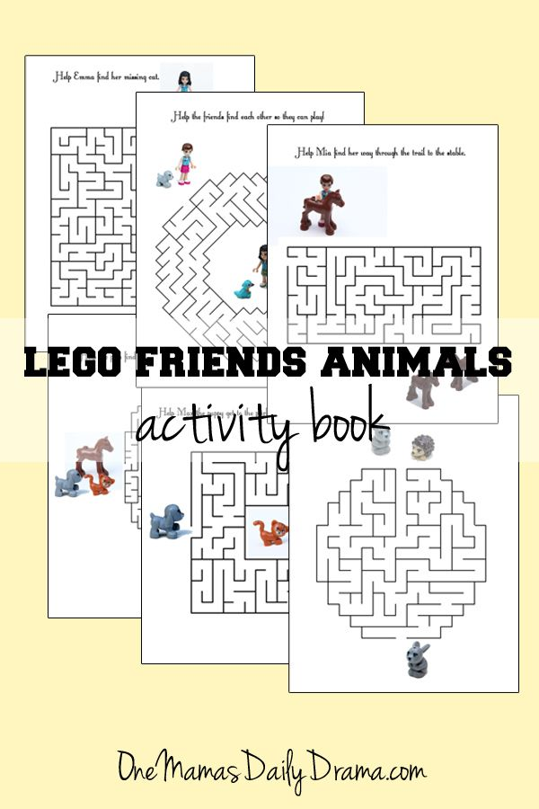 Awesome Lego Friends Coloring Book