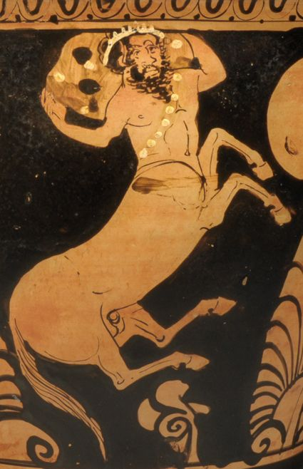 Comparison of black and red figure greek