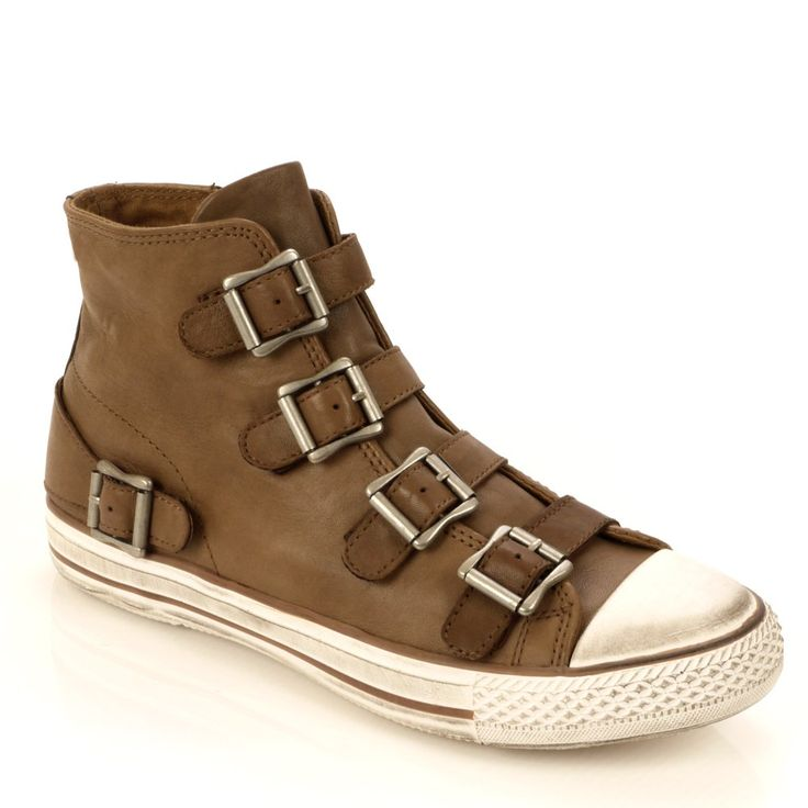 Ash Men's Vincent Tan Leather Trainer  wow, these shoes...wow. awesome