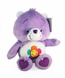 Troetelbeertjes knuffel: Tevredenbeertje (lila)