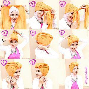 tutorial turban style