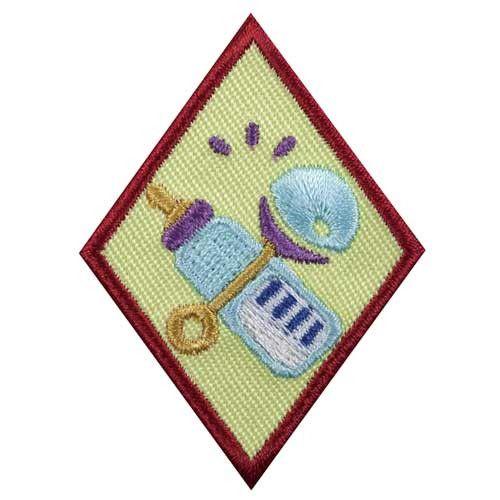 Cadette Babysitter Badge  Girl Scout Badges, Cadette -6348