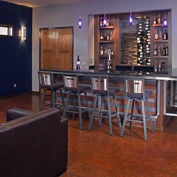 1000 Ideas About Modern Home Bar On Pinterest Mid
