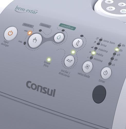Umidificador Consul #button