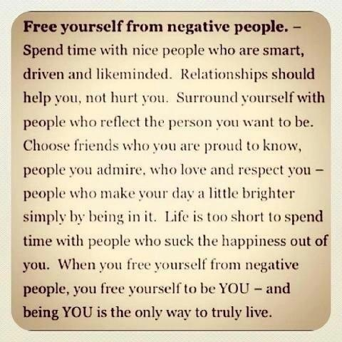 People Bringing You Down Quotes Dont Let Negative People Bring