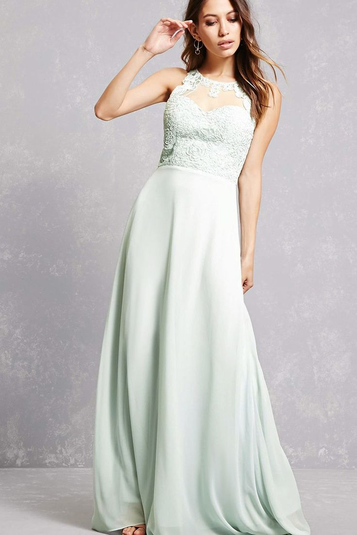 109 best mint bridesmaid dresses images on pinterest mint soieblu applique mesh gown ombrellifo Image collections