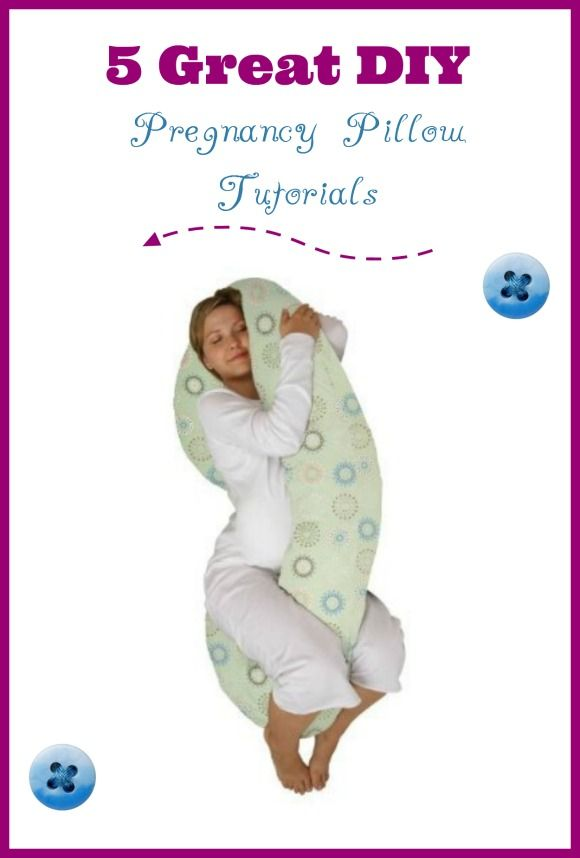 Pregnant and uncomfortable? In need of a good nights rest? Pregnancy pillows can offer you some comfort to getting some sleep. Check out these 5 tutorials to DIY your way to a better sleep!