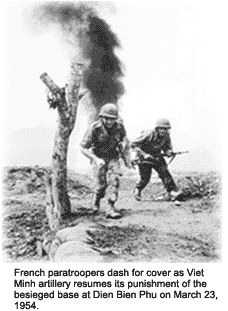 By ousting a colonial power from within its borders, the communist forces of Ho Chi Minh returned some of the country's pride, as well as some of its land, to the Vietnamese people. The Battle of Dien Bien Phu was the final, defining conflict of the First Indochinese War, and led to the Geneva Accords, which divided Vietnam into communist North Vietnam and pro-west South Vietnam.