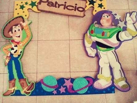 "Marco para Fiesta ""Toy Story"""