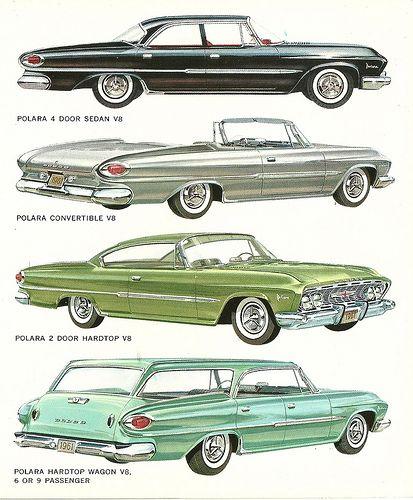 1961 Dodge Polara...got my eye on the wagon!