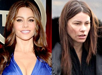 Celebrities without makeup... I might add Gwyneth Paltrow & Katherine Heigl still look amazing sans makeup!