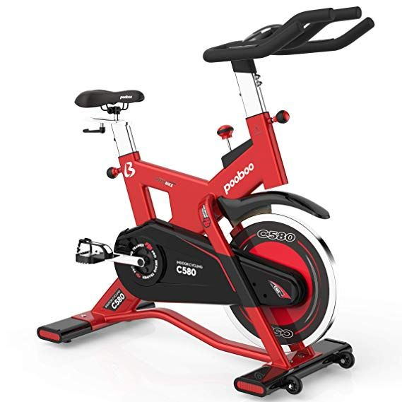 L Now Pro Indoor Cycling Bike Smooth Belt Driven And 40lb Flywheel