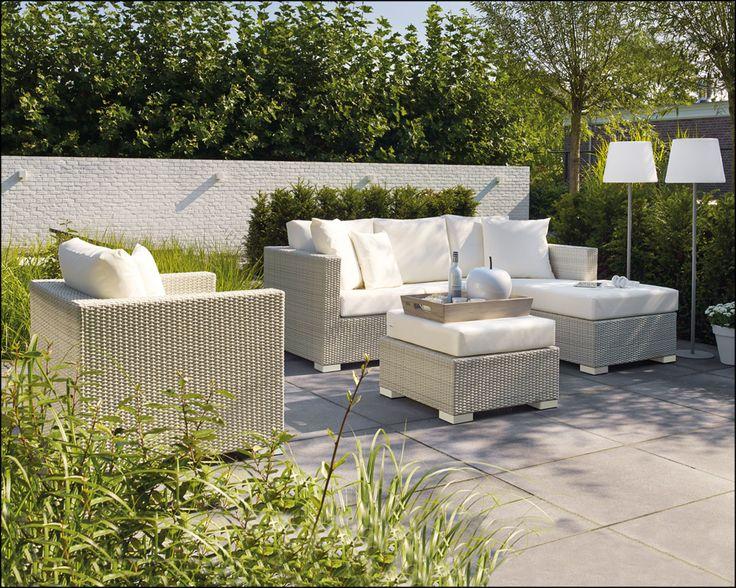 Aya loungeset white beach ! | Buitenhof
