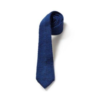 A plain tie