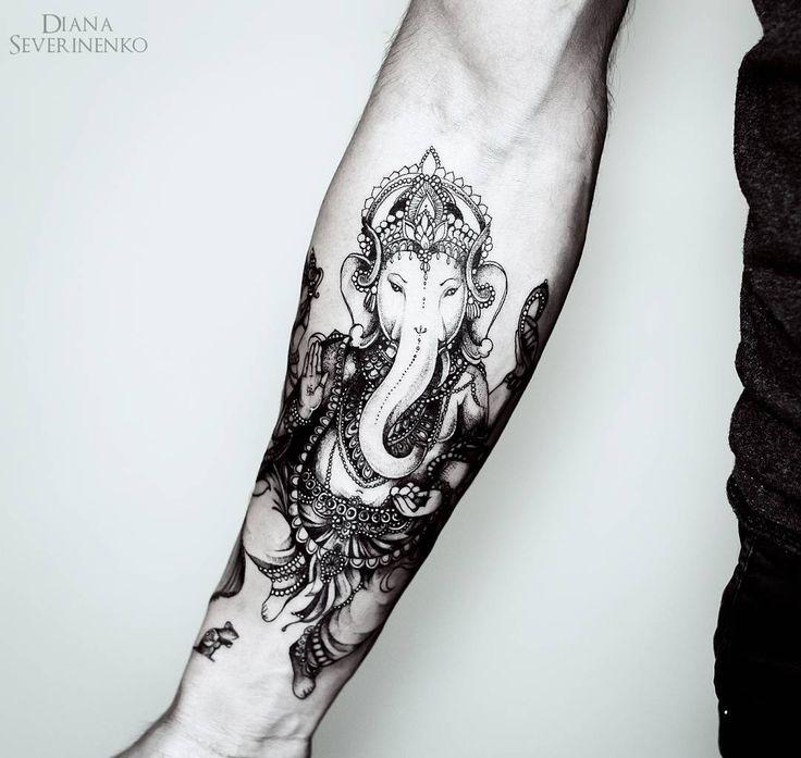 +1000 Ideias Sobre Tatuagem Ganesha No Pinterest