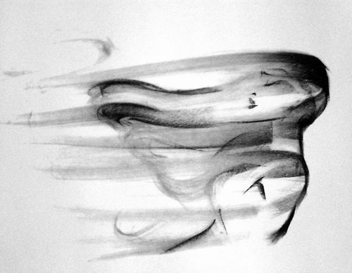 Colors of the Wind charcoal animation by Glen Keane ✤ || CHARACTER DESIGN REFERENCES | Not ink, but it's so pretty!