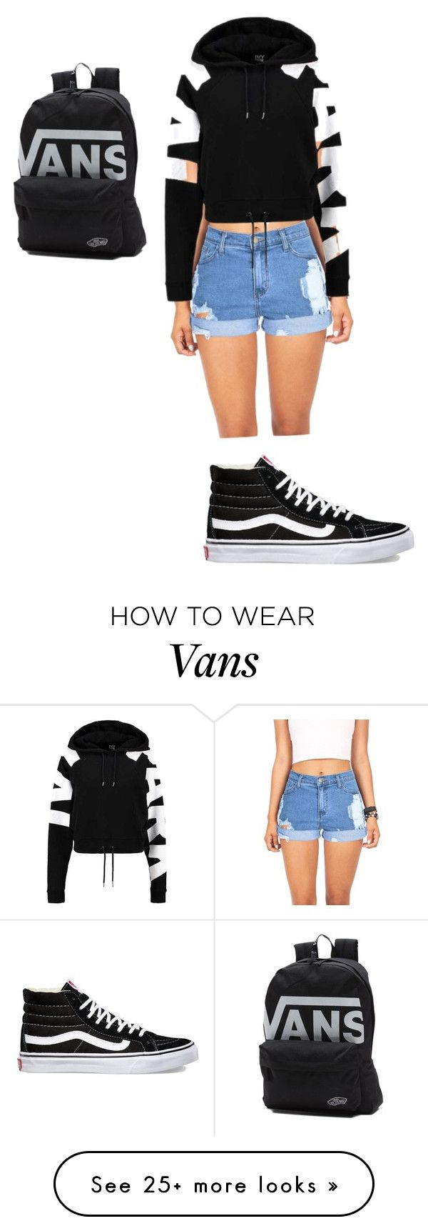 """""""Untitled #1"""" by roseleetiger on Polyvore featuring Vibrant, Ivy Park and Vans"""