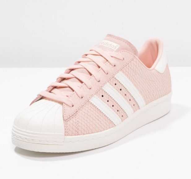 Adidas Originals SUPERSTAR 80S Baskets basses blush pink/offwhite prix promo…