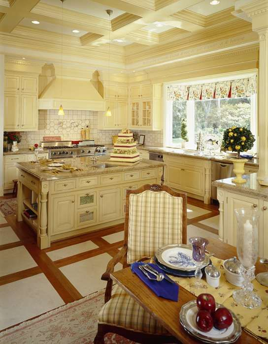 french country kitchen - Country French Decor