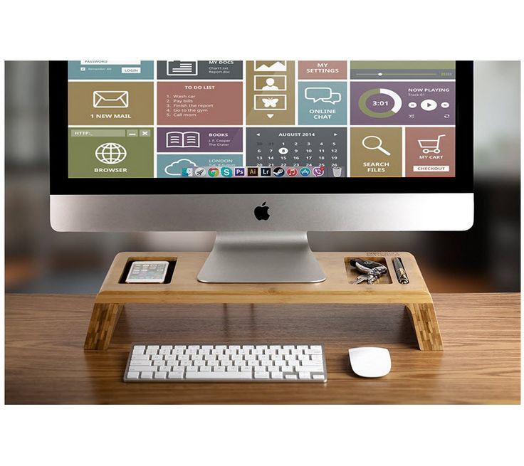 Lovely 20 best Wood monitor risers images on Pinterest | Desks, Display  HC99