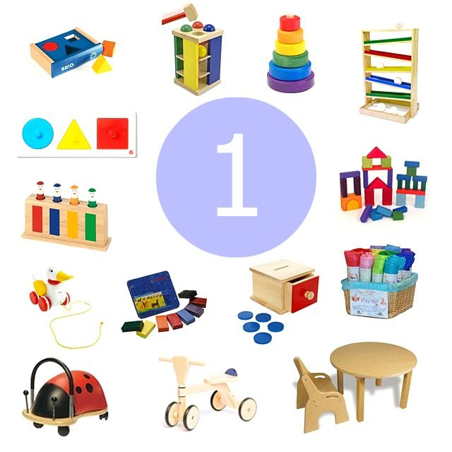 Gift Ideas for a One Year Old - how we montessori