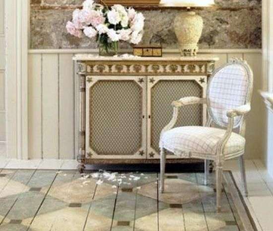 17 Best Images About Decorative Painted Wood Floors On